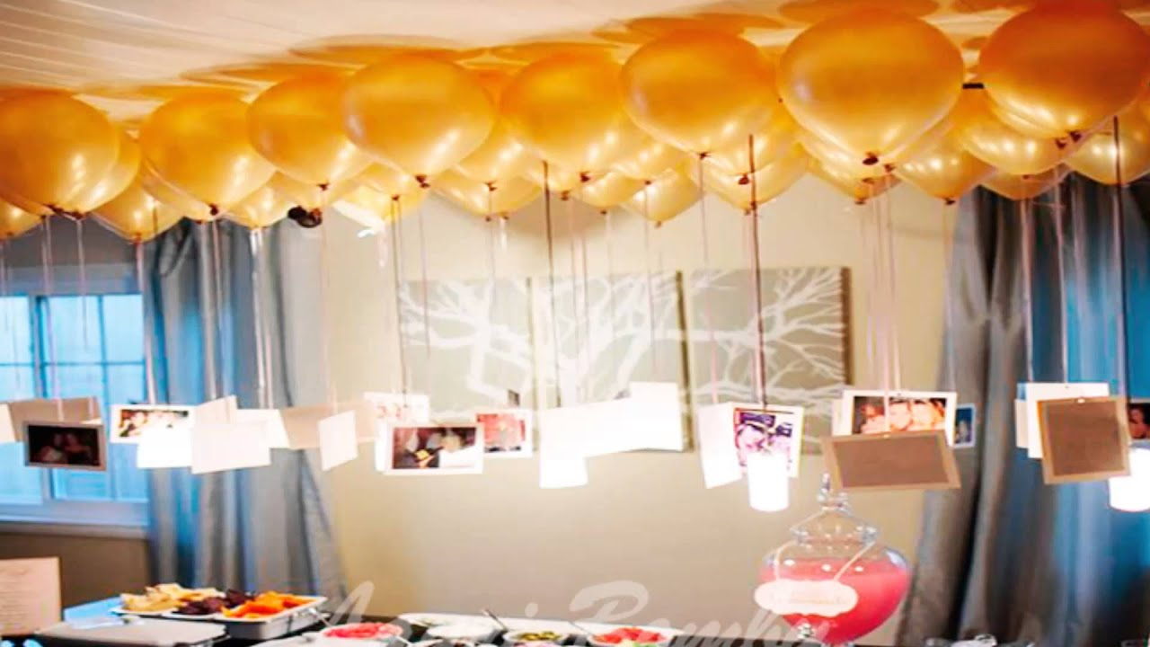 Aprende como decorar con globos youtube for Cuartos decorados romanticos con globos