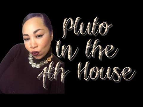 THE DARK SIDE | PLUTO IN THE 4TH HOUSE - YouTube
