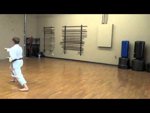 Lincoln Budokan, Heian Shodan Kenkojuku Shotokan Karate