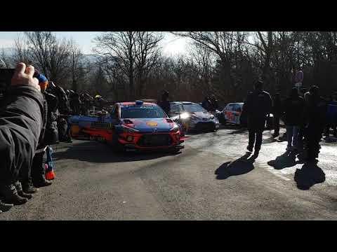 Shakedown Rallye Monté Carlo 2019 / 🇫🇷 Sébastien Loeb / 🇮🇩 Daniel Elena Hyundai i20 WRC !!