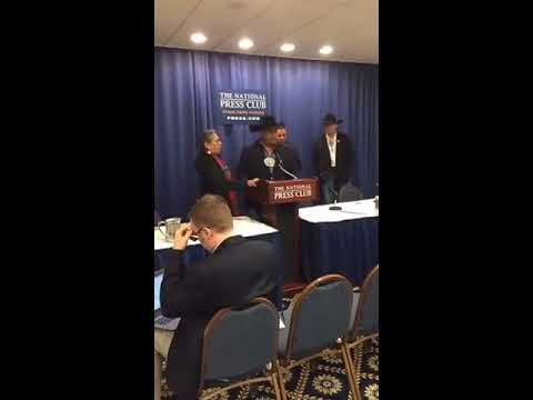 Part 2 of Cheyenne River Sioux Tribe DAPL Press Conference 2-15-2017