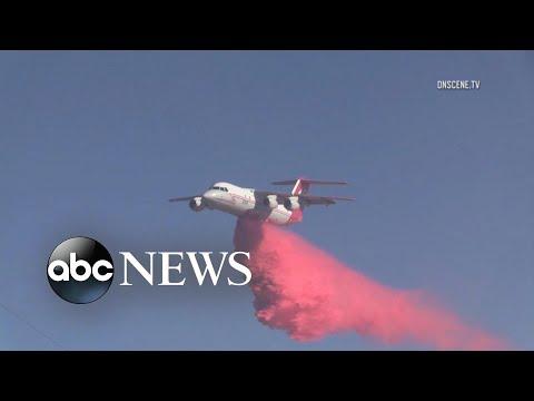 Wildfires spread as conditions worsen in California