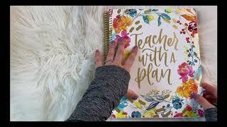 Unboxing Bloom Teacher Planner