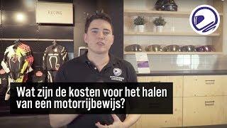 WAT ZIJN DE KOSTEN VOOR HET HALEN VAN JE MOTORRIJBEWIJS?