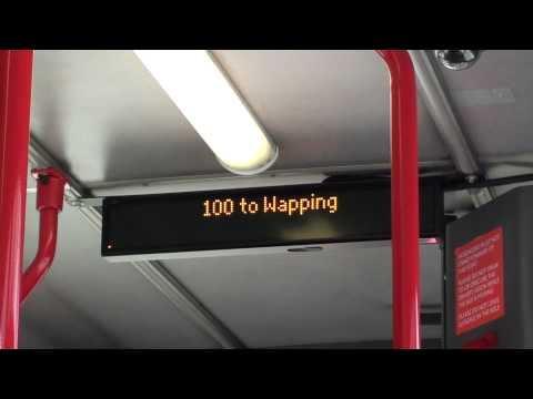 (HD) iBus - 100 to Wapping