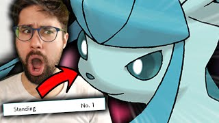 How I Got t๐ #1 In the World with Glaceon...