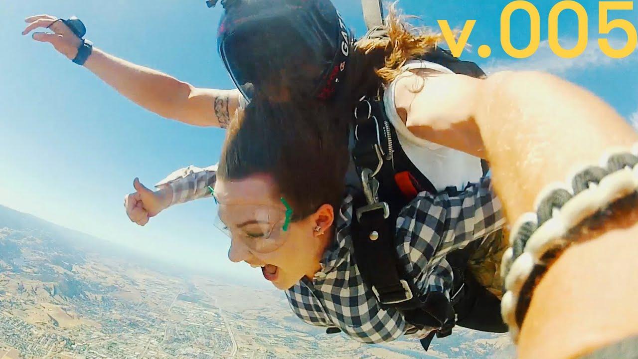 Skydiving san francisco