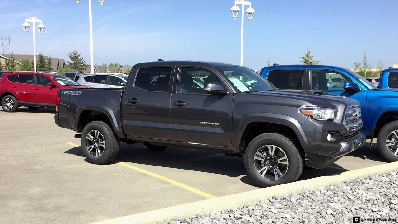 Length Of  Toyota Tacoma Double Cab Short Bed
