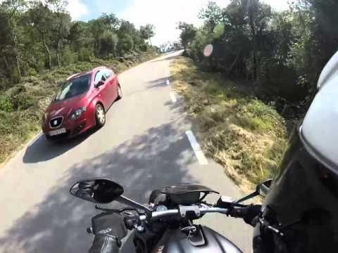 Ruta Montseny - Ducati Monster 821 1/2