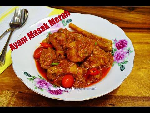 ayam-masak-merah-simple-|-resepi-ayam-masak-merah-madu-paling-sedap-dan-mudah-|-resepi-hari-raya