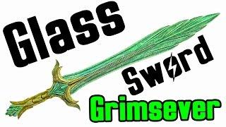 Skyrim: How to get Glass Weapon (Unique Grimsever Sword Location)