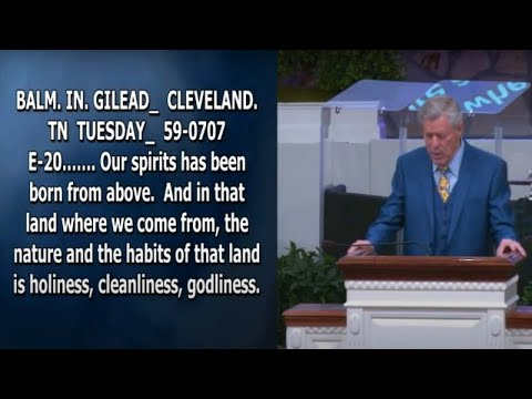 Download Getting In The Spirit Pt.33 - Bro. Donny Reagan, Happy Valley Church Of Jesus Christ (May 12, 2021)