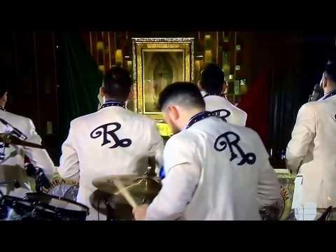Banda El Recodo :Las Mañanitas a la virgen de Guadalupe!!