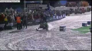 Heath Frisby-first snowmobile front flip