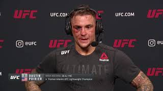 UFC Vegas 4: Dustin Poirier Post-fight Interview