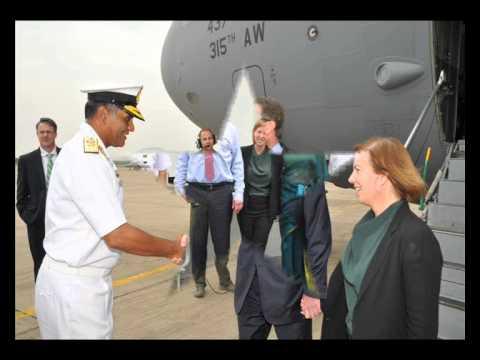 US SECRETARY OF DEFENCE VISIT VISAKHAPATNAM