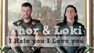 Thor & Loki - i hate u, i love u [ Thorki ]