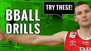 Basketball Drills For Youth: 7th Graders With Handles!