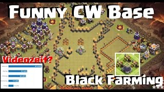 [167] PIKACHU Funny CW Base   Black Hardcore Farming   Auflösung Videozeitumfrage   COC   Deutsch