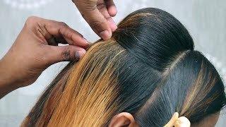 Elegant Bun hairstyle for Wedding/party    Messy Bun Hairstyle for Medium Hair   hairstyle Updo's