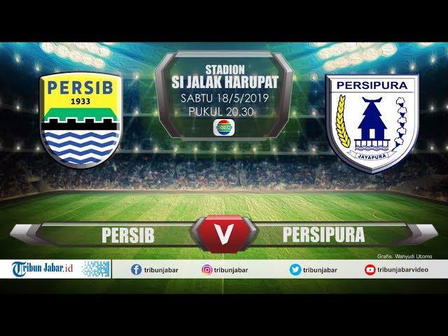 JADWAL LIVE STREAMING Liga 1 Persib VS Persipura Stadion Si Jalak Harupat