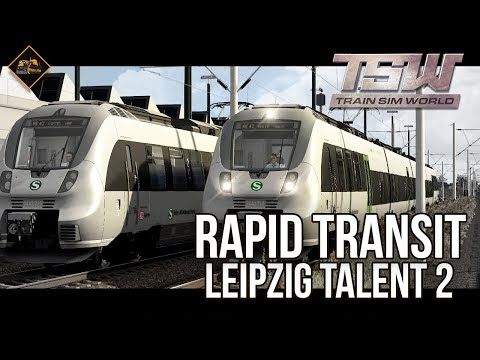 Talent 2 Leipzig commuter service | Train Sim World Rapid Transit DLC gameplay