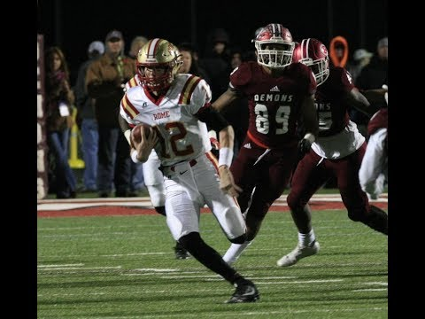 Rome Wolves vs Warner Robins Demons 5AAAAA GHSA State Championship Game Highlights