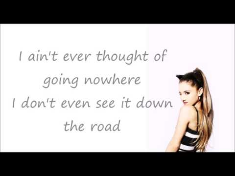 Sometimes - Ariana Grande ( acoustic ) (lyric)