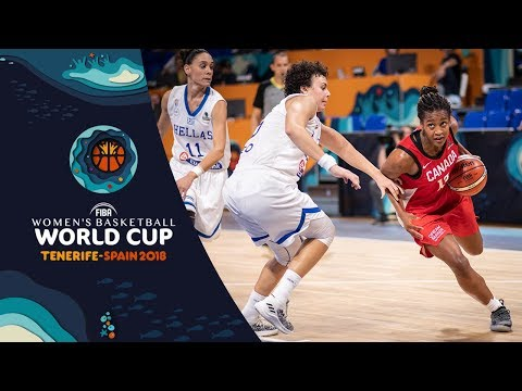 Greece v Canada – Highlights – FIBA Basketball Women's World Cup 2018