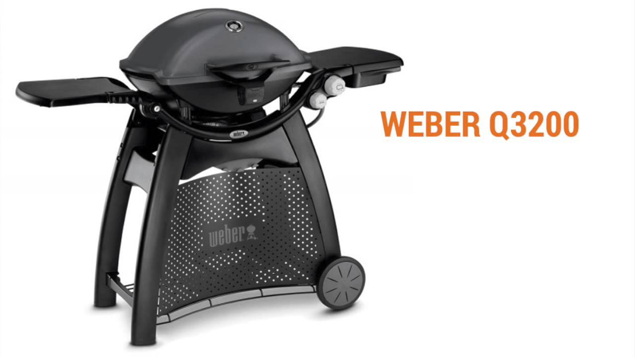 weber q3200 gasgrill bygxtra online byggemarked youtube. Black Bedroom Furniture Sets. Home Design Ideas