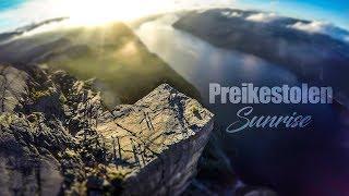Preikestolen sunrise / NORWAY