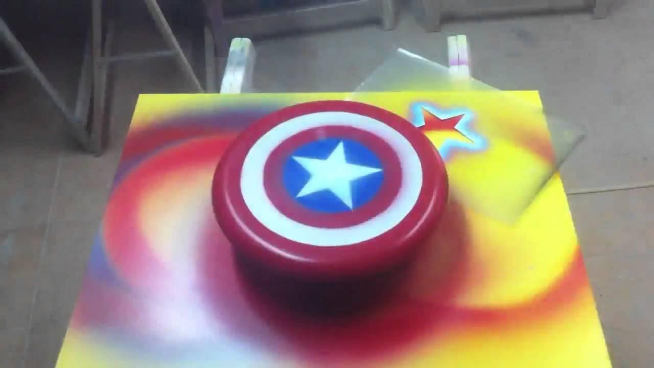 Crear escudos de superhéroe - YouTube