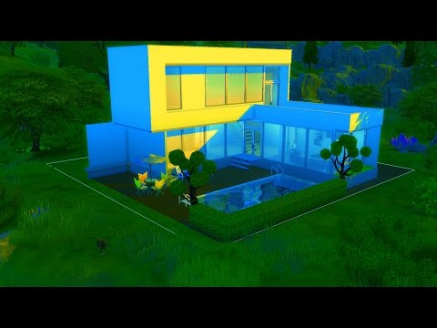 Cara Membuat Rumah stylish terbaru  SIMS 4 
