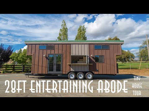 28ft Tiny House Tour built for off-grid desert living ( Tiny House Basics' Tiny House Trailers )