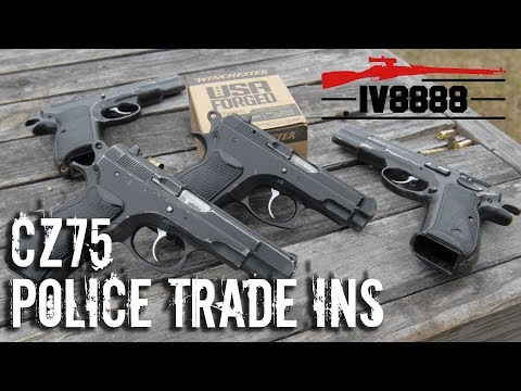 CZ75 Police Trade Ins