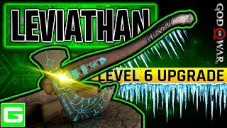 How to Fully Upgrade the Leviathan Axe to Max Level 6   God of War 2018 (GOW)