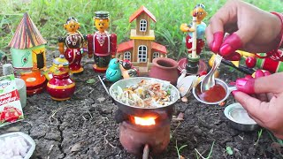 Miniature Veg Noodles Recipe in Telugu  Sabjiyan Noodle in Small Cooking  Wee Toy Dishes