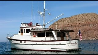 50' Cheoy Lee Long Range Trawler Yacht Tour