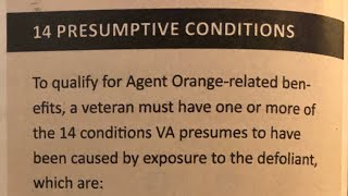 14 Diseases / Agent Orange The 14 Diseases that the VA Recognizes caused by Agent Orange., From YouTubeVideos