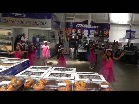 PriceSmart dancers in David, Chiriqui Province, Panama