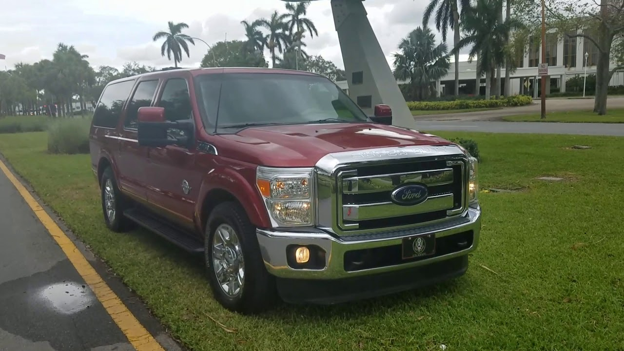 Ford Excursion 2016 >> 2000 Ford Excursion 2016 Conversion Youtube