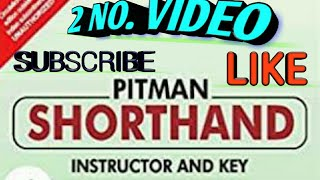 English shorthand video 2  you can learn in few months to write and read.