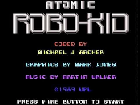 Atomic Robo-Kid (C64) Music - DualSID 6581 & 8580