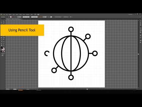 Business Connections Icon Design in illustrator Tutorial thumbnail