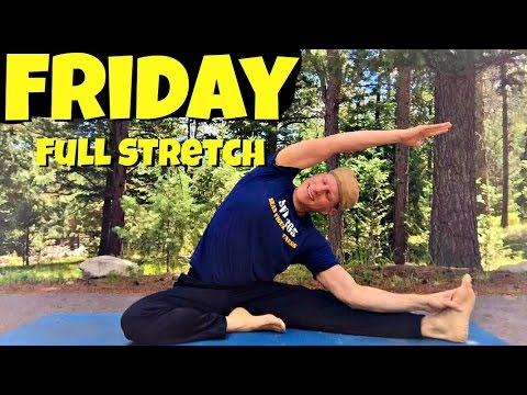 Fall Back to Fitness Day 5 Total Stretch