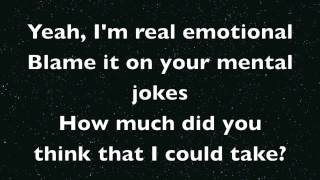 Repeat youtube video Miley Cyrus - Maybe You're Right (Lyrics)