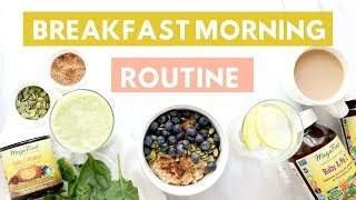 ♥ if you're new, subscribe! → http://bit.ly/1lyp5r4 view full recipe on the blog: https://www.healthygrocerygirl.com/blog/breakfast-morning-routine/ healthy ...