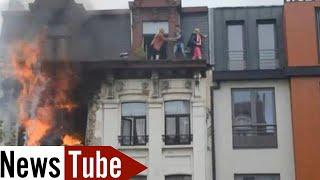 VIDEO COMPLETE de l'Explosion au boulevard Anspach à Bruxelles (1/06/13)