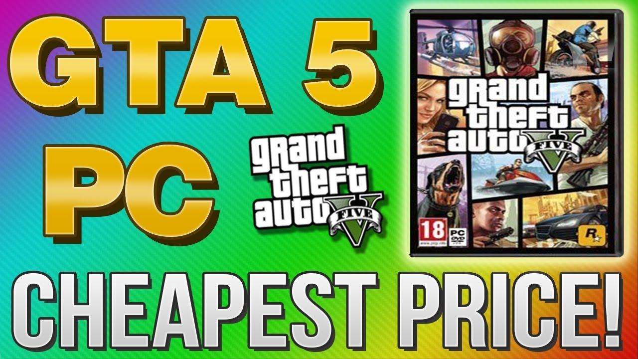 GTA 5 PC Unboxing - Обзор и содержимое диска - YouTube