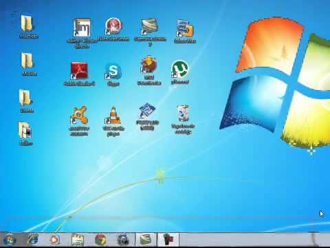 Video1 Ambiente Windows El Escritorio De Windows Y Componentes Básicos Youtube